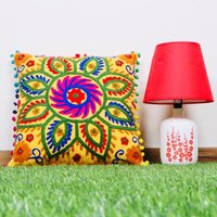 Decorative Hand Printed Cushion Cover