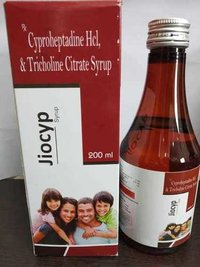 Cyproheptadine HCL & Tricholine Citrate SYRUP