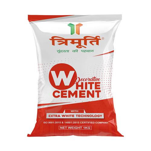 Trimurti 1 Kg Decorative White Cement