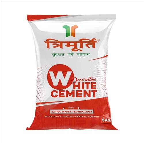 Trimurti 5 Kg Decorative White Cement