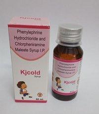 PHENYLEPHRINE HCL & CHLORPHENIRAMINE  MALEATE SYRUP I. P.