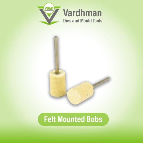 Felt mounted bobs