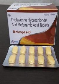 Drotaverine hydrochloride &  MEFENAMIC hydrochloride ACID TABLETS