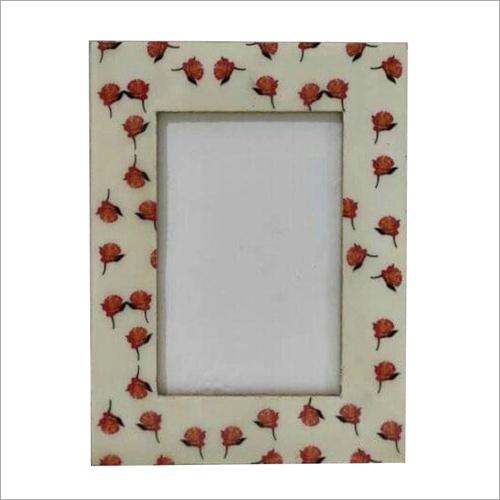 Flower Printed Photo Frame