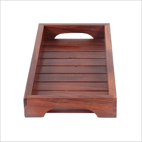Wooden Rectangular Serving Tray
