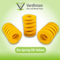 Die spring ISO Yellow