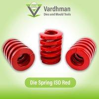 Die spring ISO Red