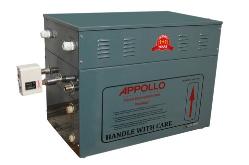 Appollo Steam Bath Generator  9.0 KW.(Dual Tank For Commercial Use)