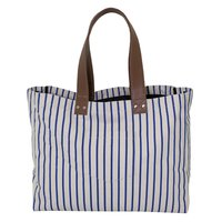 12 Oz Natural Canvas Tote Bag With PU Handle