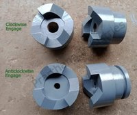 Spiral Jaw Clutch Coupling