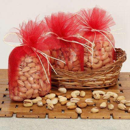 Dry Fruit Packing Net Bags