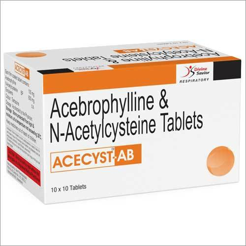 Acebrophylline And N-Acetylcysteine Tablets