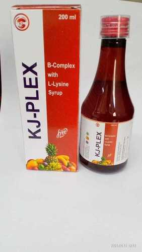 B- COMPLEX WITH L- LYSINE SYRUP