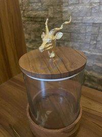 Acrylic Ice Bucket with Raindeer Top