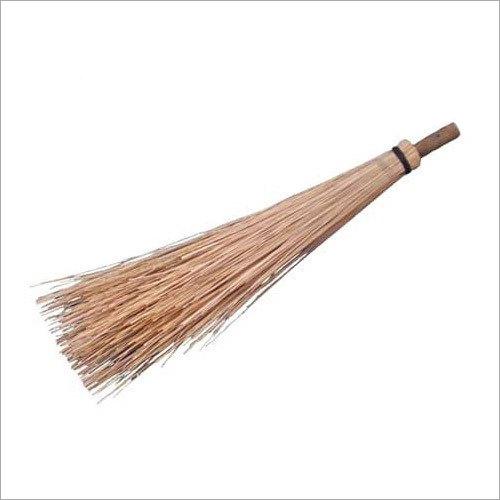 Wooden Long Handle Coconut Broom