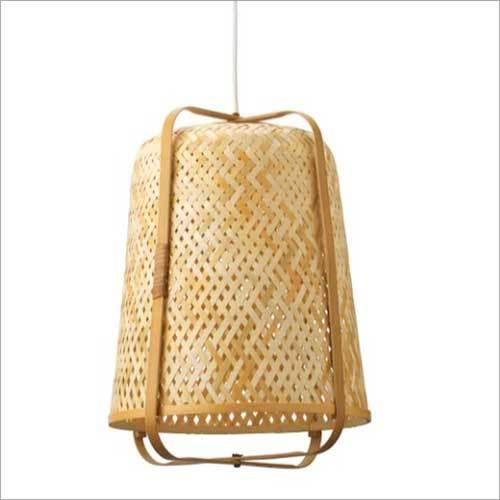 Handmade Bamboo Hanging Lamp