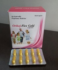 AYUERVEDIC PROPRIETARY MEDICNE  ORTHOJ- FLEX GOLD CAPSULE