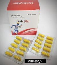 AN AYUERVEDIC PROPRIETARY MEDICINE   ORTHOJ - FLEX CAPSULE