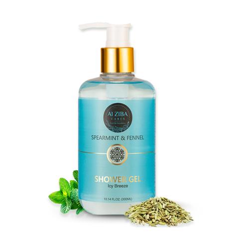 Spearmint & Fennel Icy Breeze  Shower Gel - 300ML