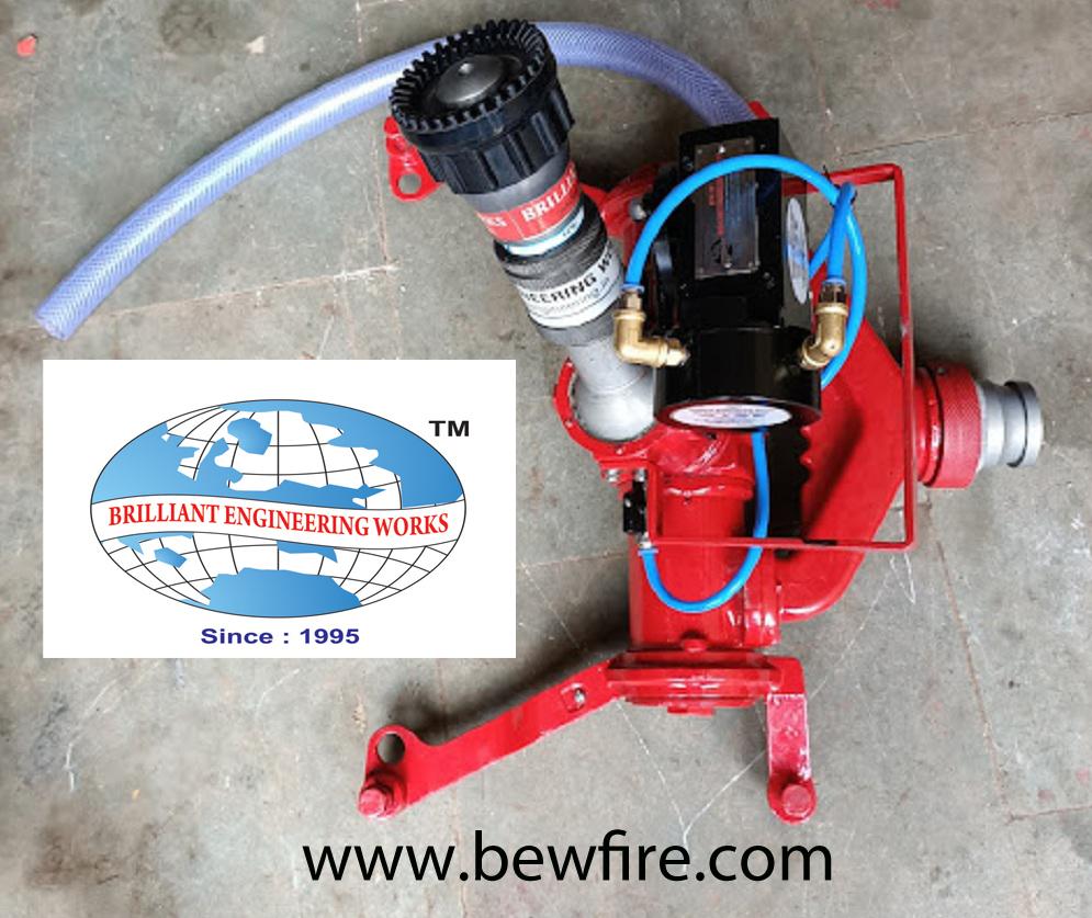 SELF OSCILLATING FIRE WATER MONITOR