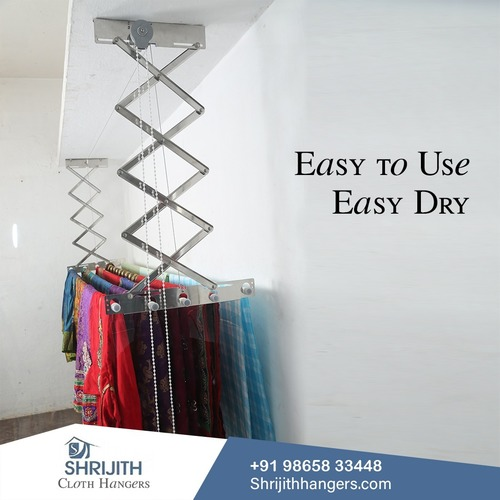 CLOTH DRYING HANGER AND STAND MANUFACTURER IN KRAMADAI - 641104