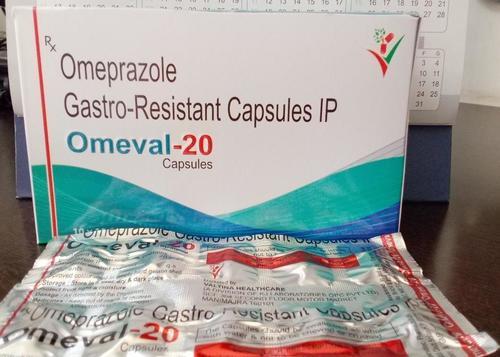 OMEPRAZOLE GASTRO - RESISTANT CAPSULES IP