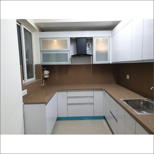 U Shape Modular Kitchen Cabinet