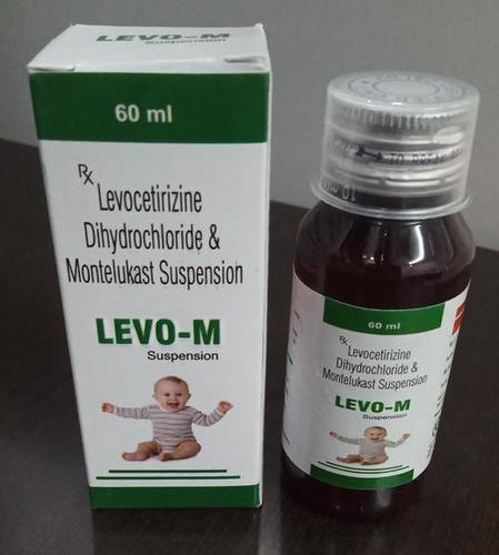 LEVOCETIRIZINE DIHYDROCHLORIDE &  MONTELUKAST SUSPENSION