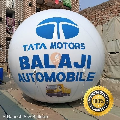 TATA Motors Advertising Sky Balloon   12 x 12ft.   Ganesh Sky Balloon