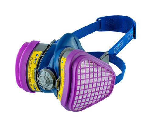 GVS Elipse P100 Half Face Gas Mask Respirator