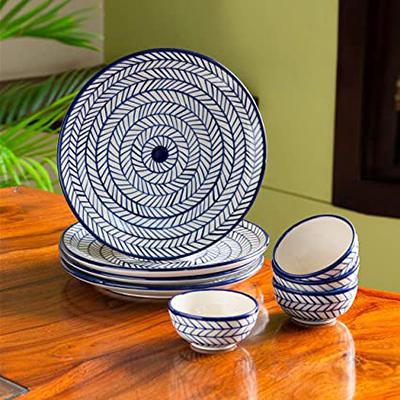 Ceramic Hand  Dinner Plates