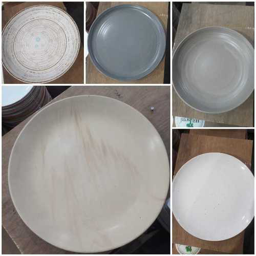 Round Ceramic Dinner Plate