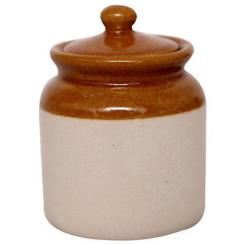 Ceramic Cornichon Storage Jar for Pickle