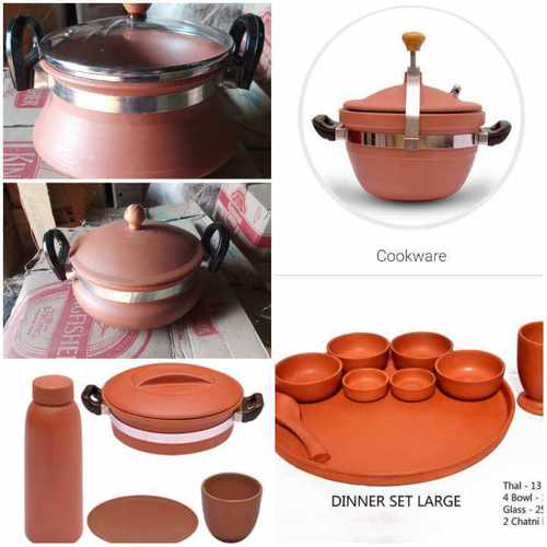 Handmade Clay Kitchen Pots