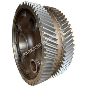 Double Helical Round Gear
