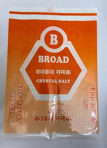 Broad Crystal Salt Pouches