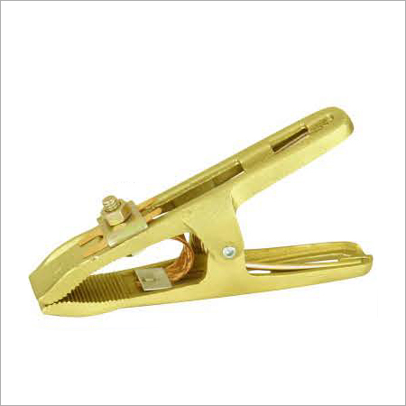 Earth Clamps Ground Clamps Euro Brass Series ECGM60 With Copper Shunt