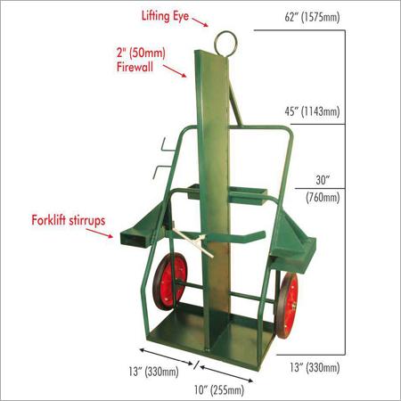 CyT16FLF Cylinder Trolley Firewall Lifting Eye & Forlift Stirrups