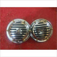 90 Mm Horn Set Of Two Chrome Grill Automobile Horns