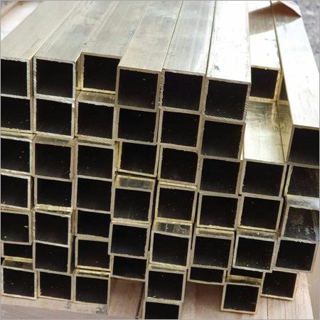 Brass Square Pipe