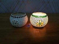 T Light Holders Mosaic