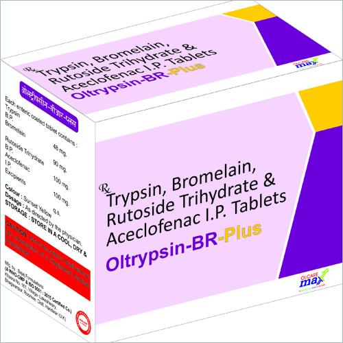 Oltrypsine BR- Plus Tablets