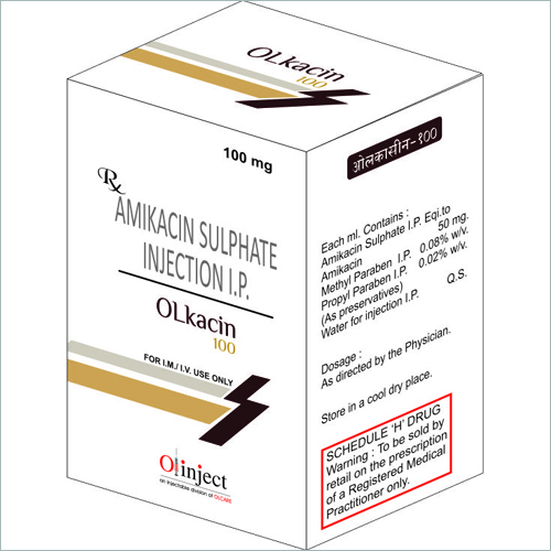 Olkacin -100 Injection