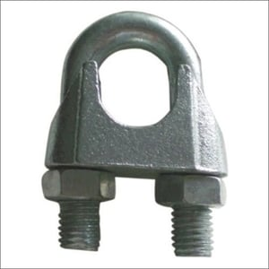 Galvanized Wire Rope Clamps