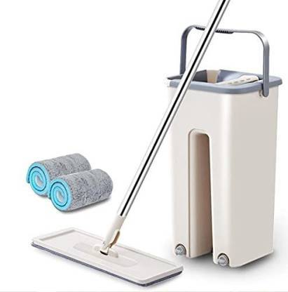 Flat Mop Home Cleaning Mop with Microfiber Cleaning Technology, 360 Degree Rotating Mop Handle