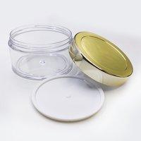 Acrylic Jar or San Jar with Gold Cap (50gm)