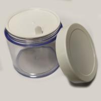Acrylic Jar or San Jar with White Cap (100gm)
