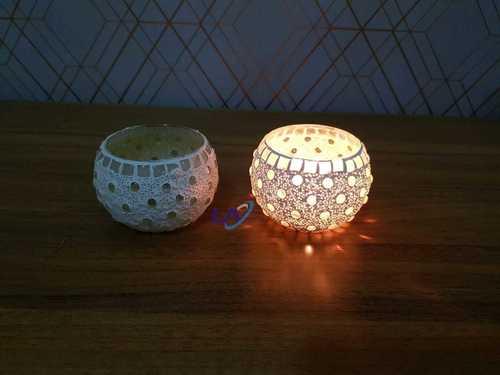 Mosaic Glass Decorative Table Lamp