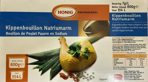 Honig Professional Frozen Chicken Pouches