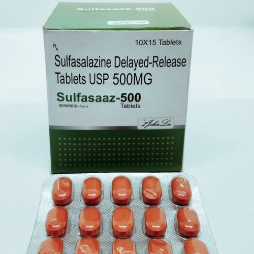 Sulfasalazine Delayed-Release Tablets USP 500MG
